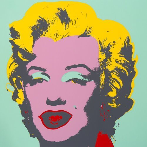 andy warhol stampa