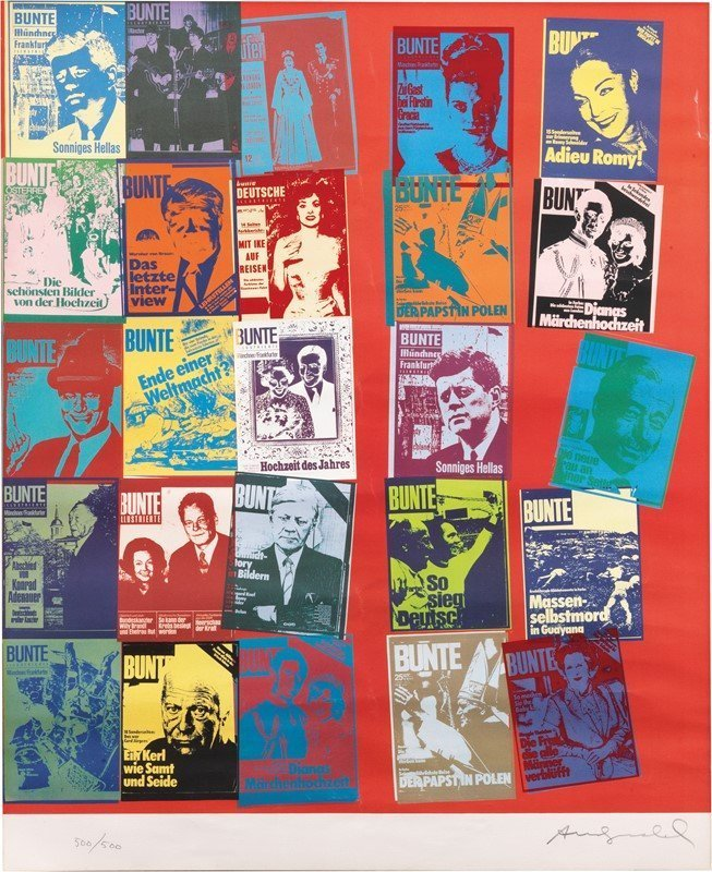 andy warhol magazine and history