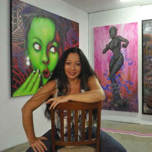 lady pink opere d'arte