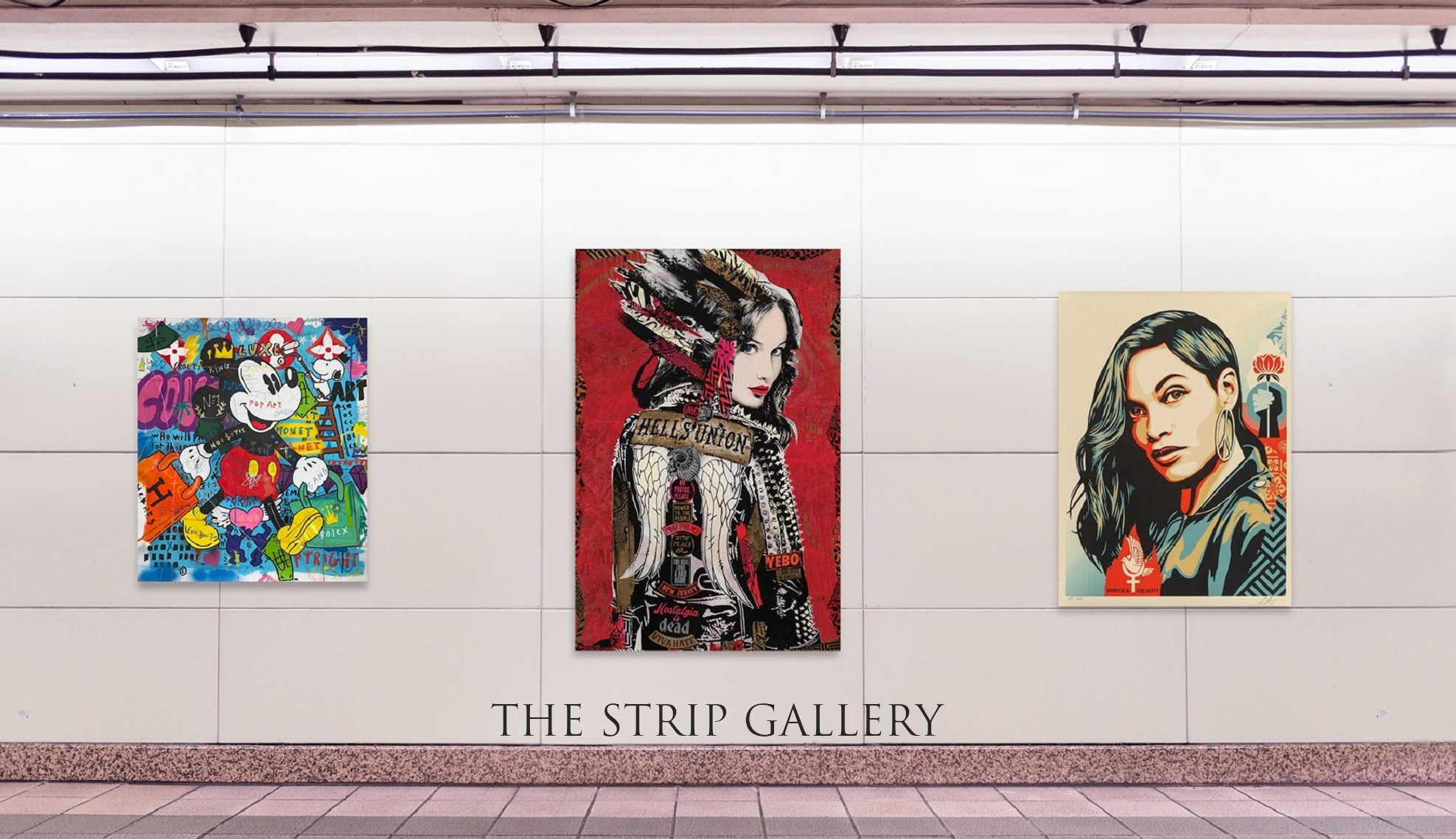 THE STRIP GALLERY