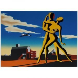 mark kostabi signed print