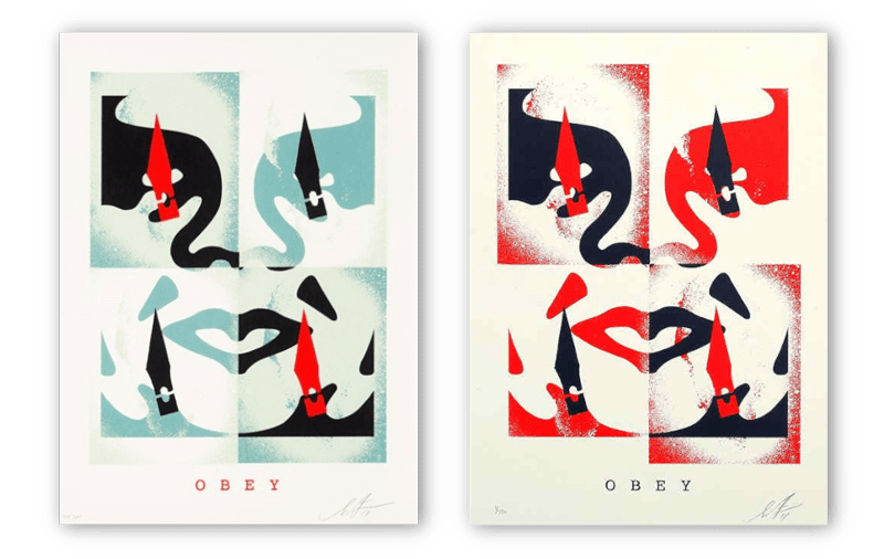 obey signed prints min