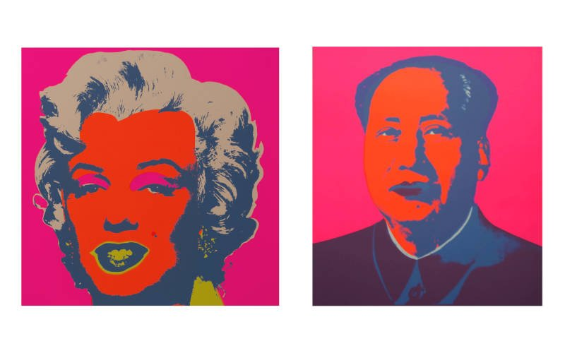 andy warhol stampe