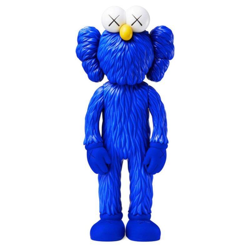 kaws bff blue