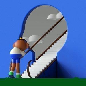 cesar pelizer stairs