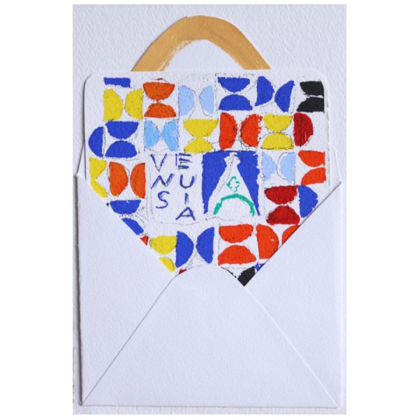 joe tilson postcard