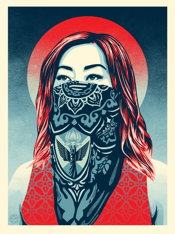 Shepard-Fairey-Just-Angels-Rising-Print