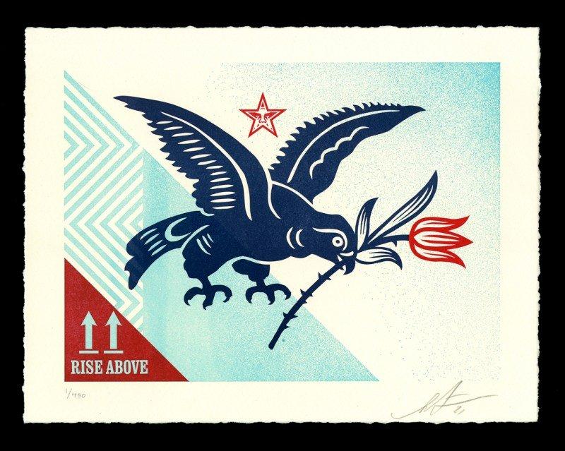 Shepard-Fairey-Rise-Above-Bird